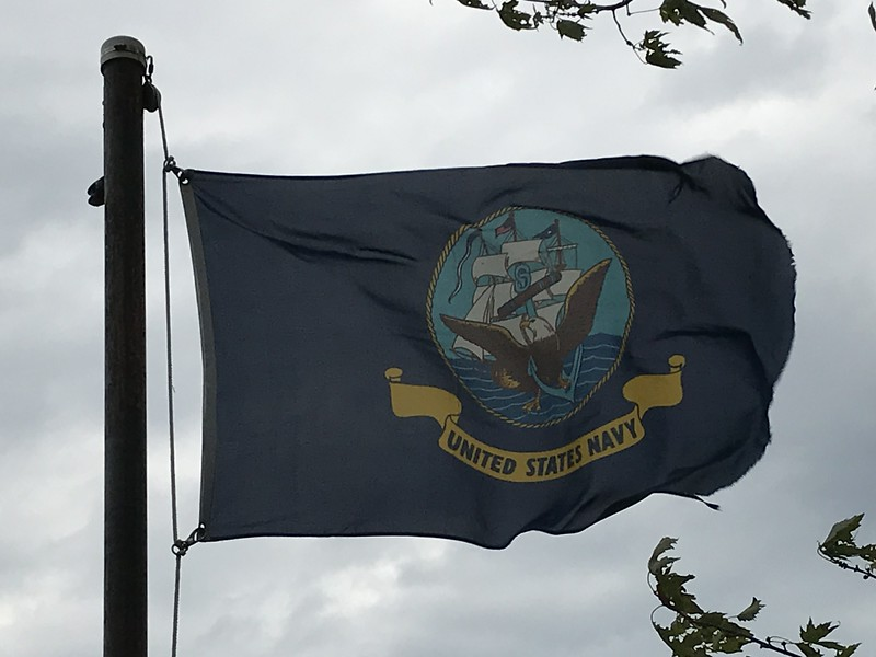 October 25, 1944 - US Navy Flag