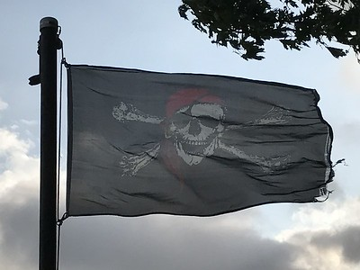 July 30, 2017 - Pirate Flag