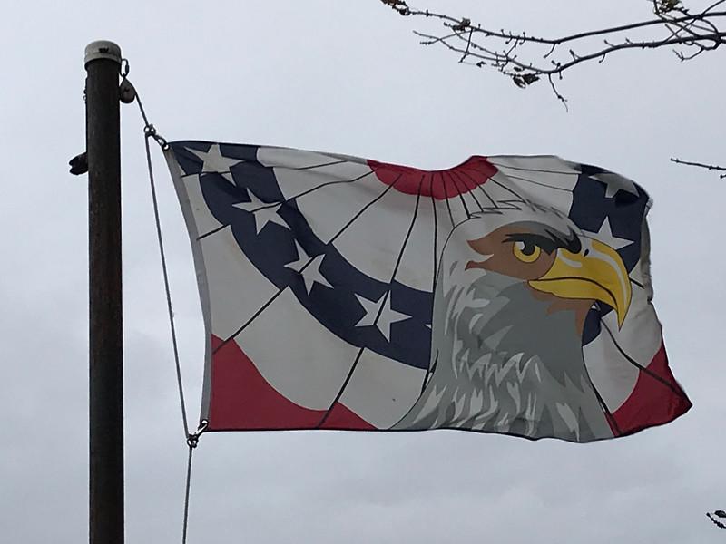 November 23, 2017 - Eagle Flag