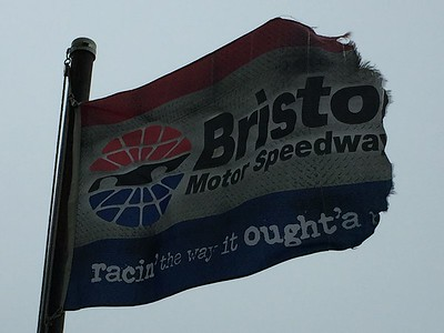 April 24, 2017 - Bristol Motor Speedway Flag