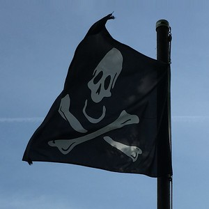 May 23, 1701 - Skull & Crossbones Flag