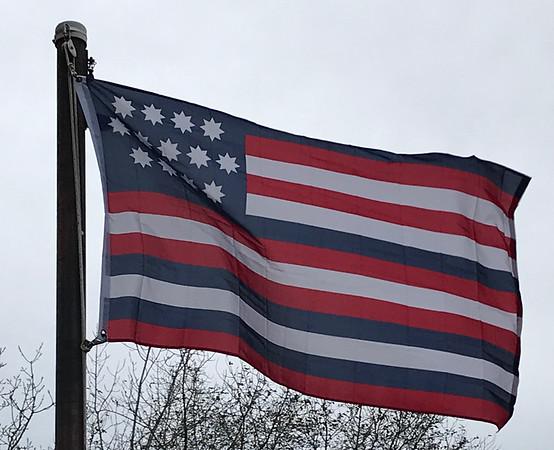 December 7, 1775 - Serapis Flag