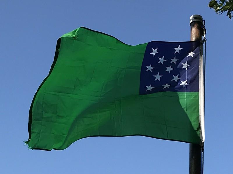 September 25, 1775 - Green Mountain Boys Flag