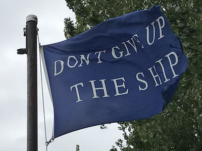 September 2, 2017 - Commodore Perry Battle Flag