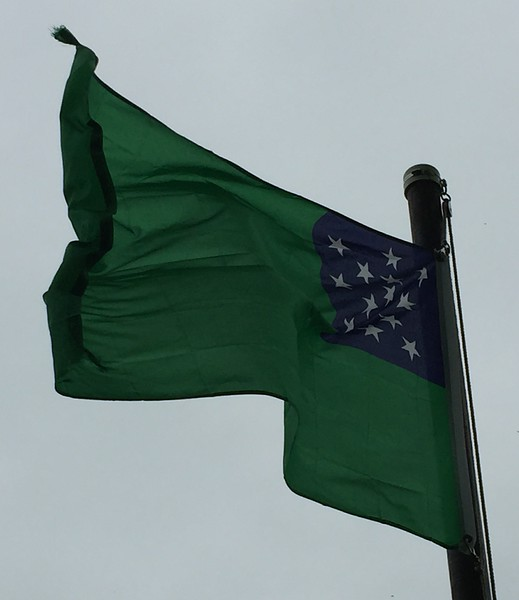 May 10, 1775 - Green Mountain Boys Flag