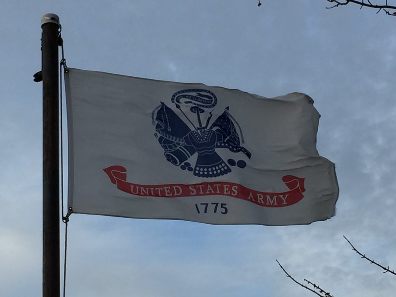 March 24, 1958 - US Army Flag