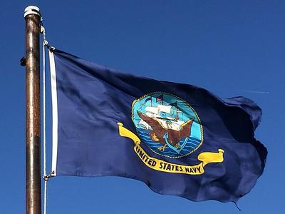 March 8, 1945 - U.S. Navy Flag