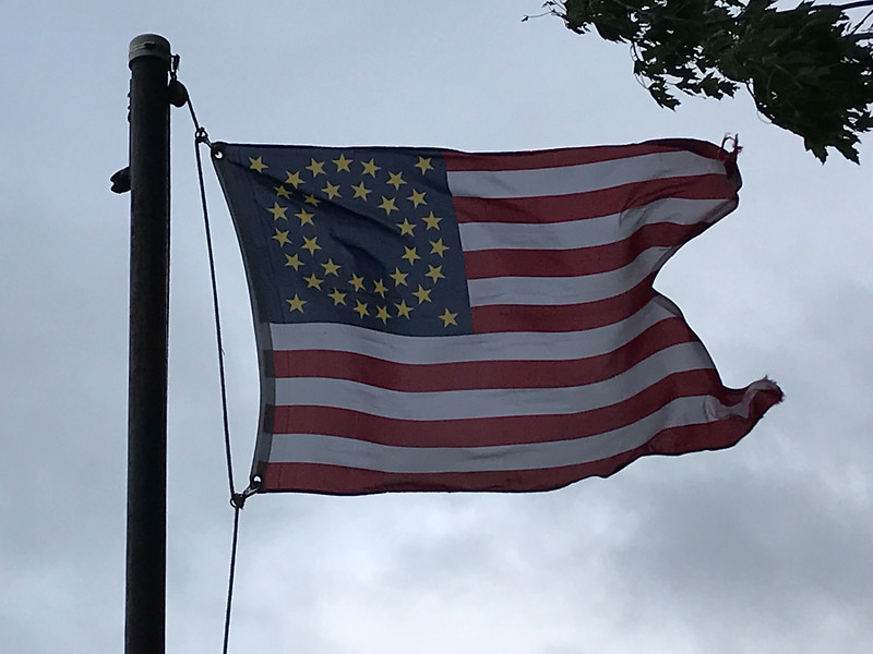 September 4, 1886 - 7th Cavalry Battle Banner