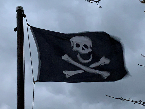 November 15, 1720 - Skull and Crossbones Flag