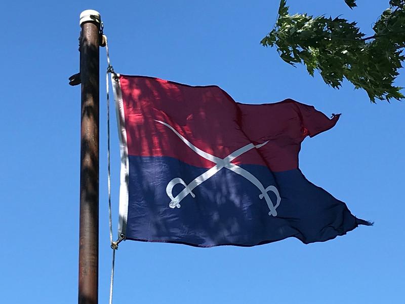 June 25, 1876 - 7th Cavalry Flag