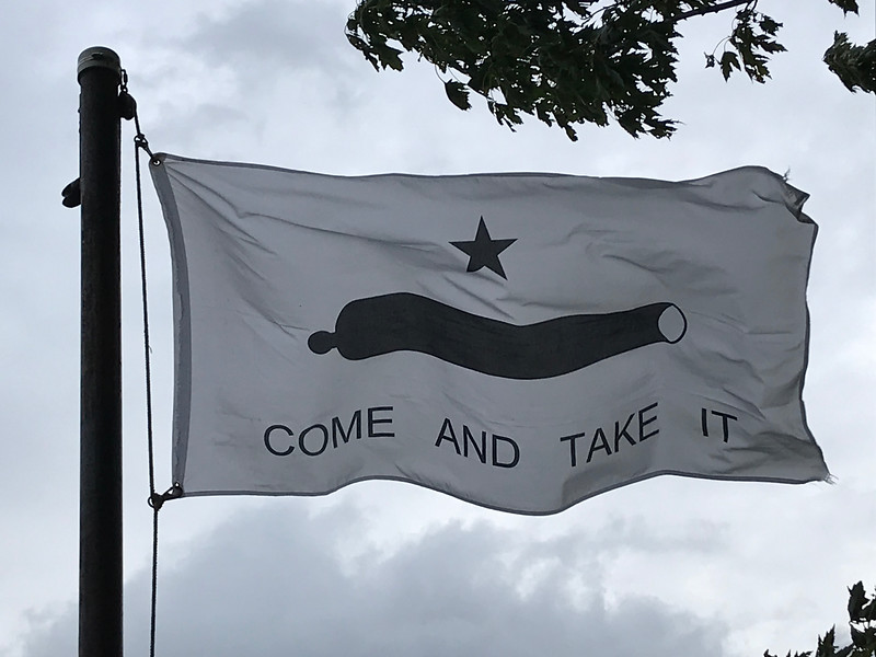 October 2, 1835 - Battle of Gonzales Flag