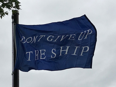 September 10, 1813 - Commodore Perry Battle Flag