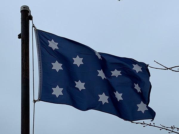 December 14, 1799 - George Washington Position Flag