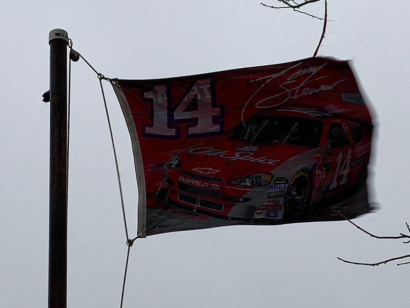 November 20, 2011 - Tony Stewart Flag