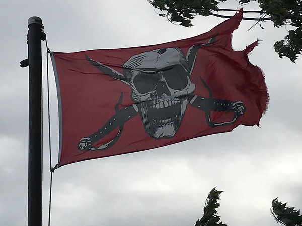 July 21, 2018 - Pirate Flag