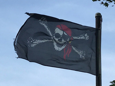 September 19, 2018 - Pirate Flag