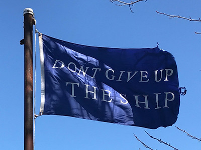 May 7, 2018 -- Commodore Perry Battle Flag