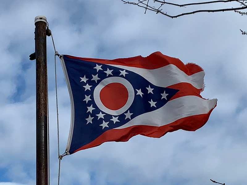December 17, 1903 - State of Ohio Flag
