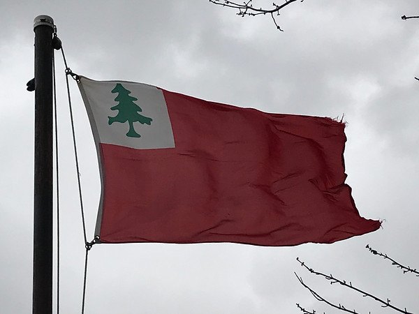 April 19, 1775 - Flag of New England
