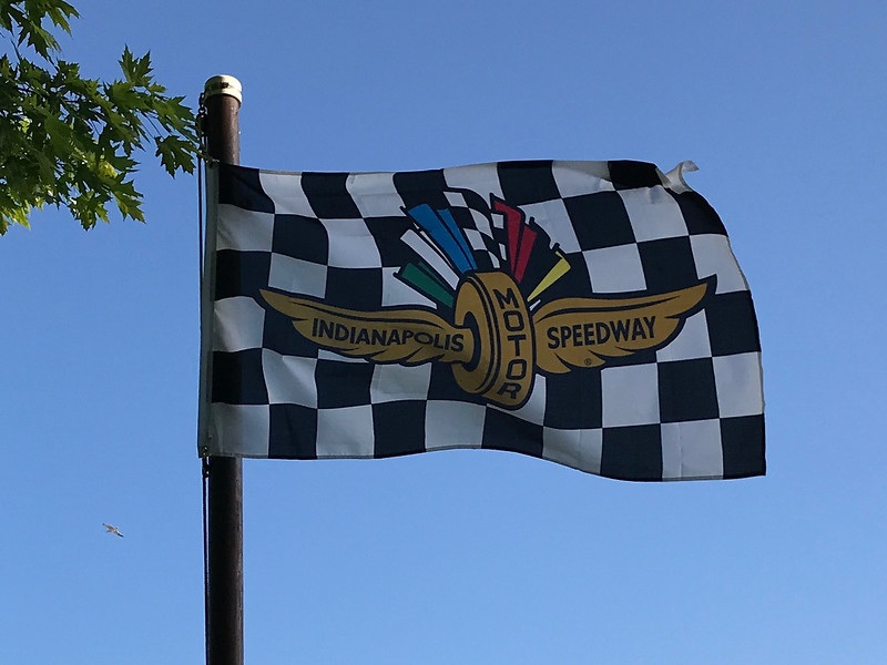 May 27, 2018 - Indianapolis Motor Speedway Flag