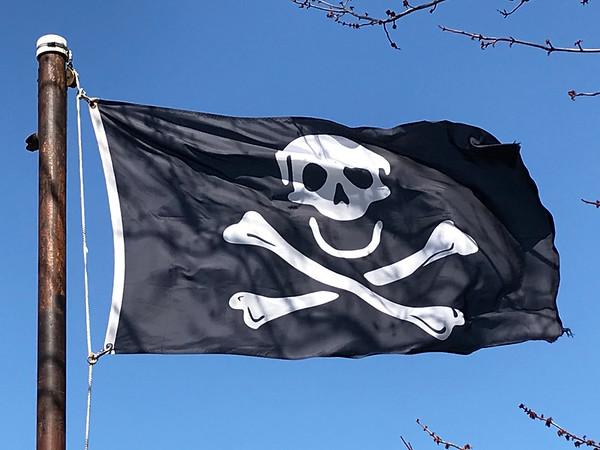 April 1, 1969 - Pirate Flag