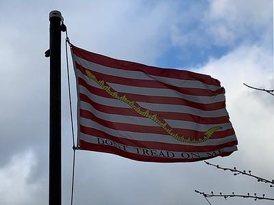 February 6, 1971 - Navy Jack Flag