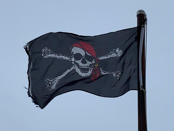 February 12, 1967 - Pirate Flag