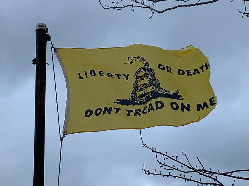 December 16, 1773 — Gadsden Flag