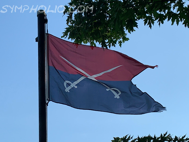 June 25-26, 1876 - Seventh Cavalry Flag