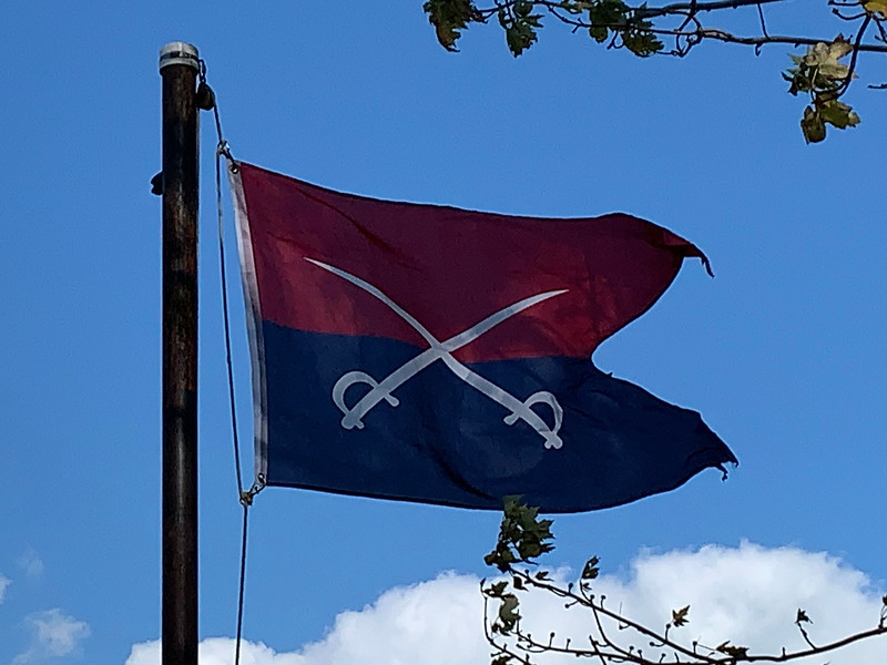 November 6. 1891 - 7th Cavalry Flag