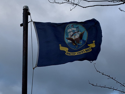 December 7, 1941 - U.S. Navy Flag