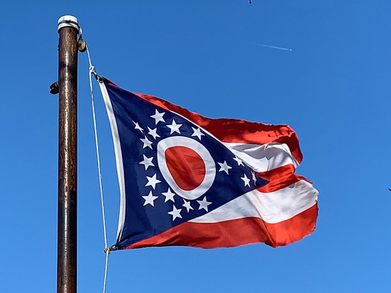 March 1, 1803 - State of Ohio Flag