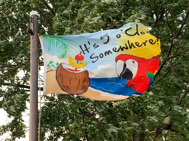 August 25, 1931 — It's 5 o'Clock Somewhere Flag