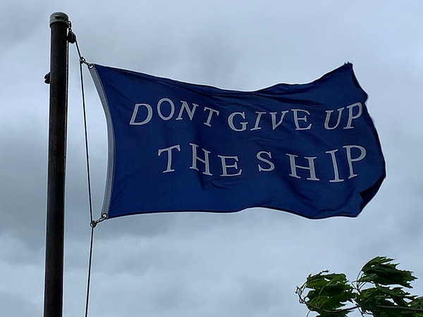 May 18, 2019 - Commodore Perry Battle Flag