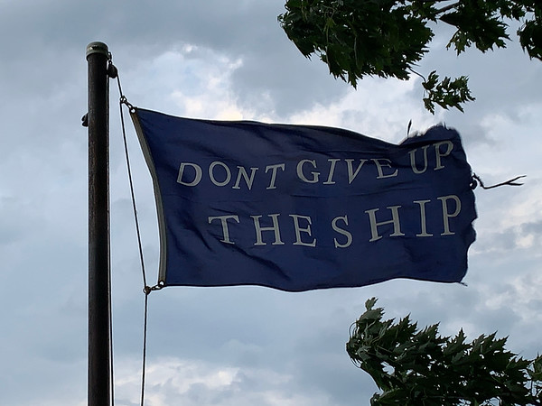 August 3, 2019 — Commodore Perry Battle Flag