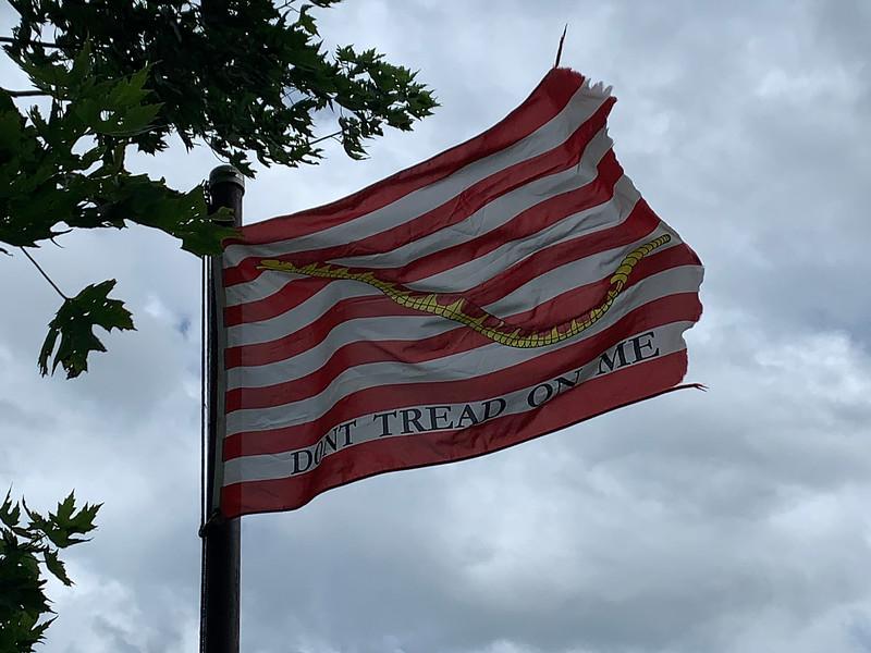 July 21, 1997 — Navy Jack Flag