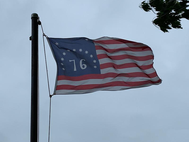 June 14, 1777 -- Bennington Flag