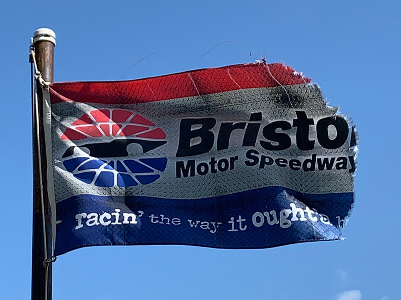 April 7, 2019 - Bristol Motor Speedway Flag