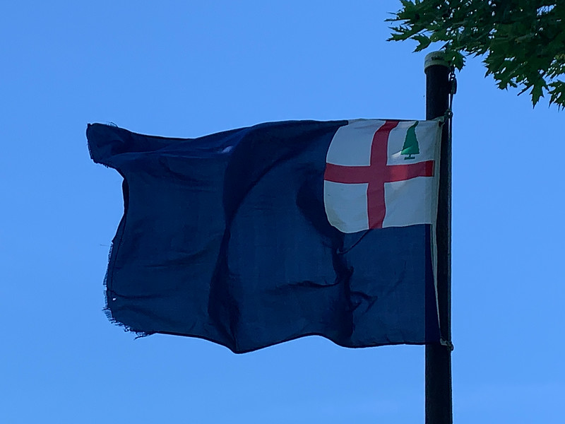 June 16-17, 1775 - Bunker Hill Flag