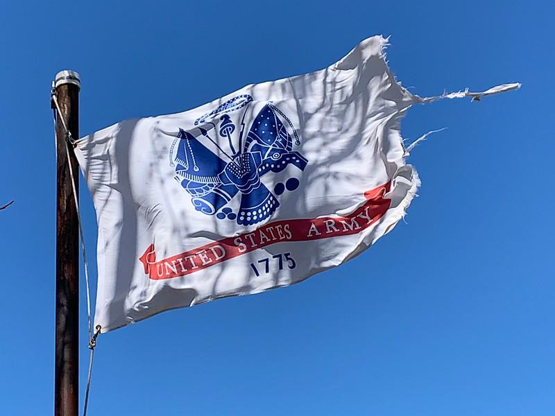 March 24, 1958 - U.S. Army Flag