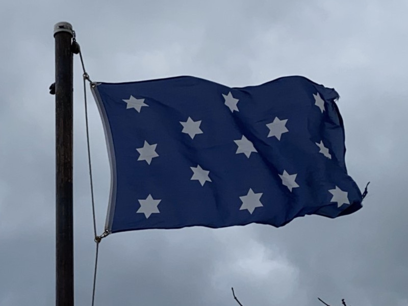 November 26, 1789 — Washington Position Flag