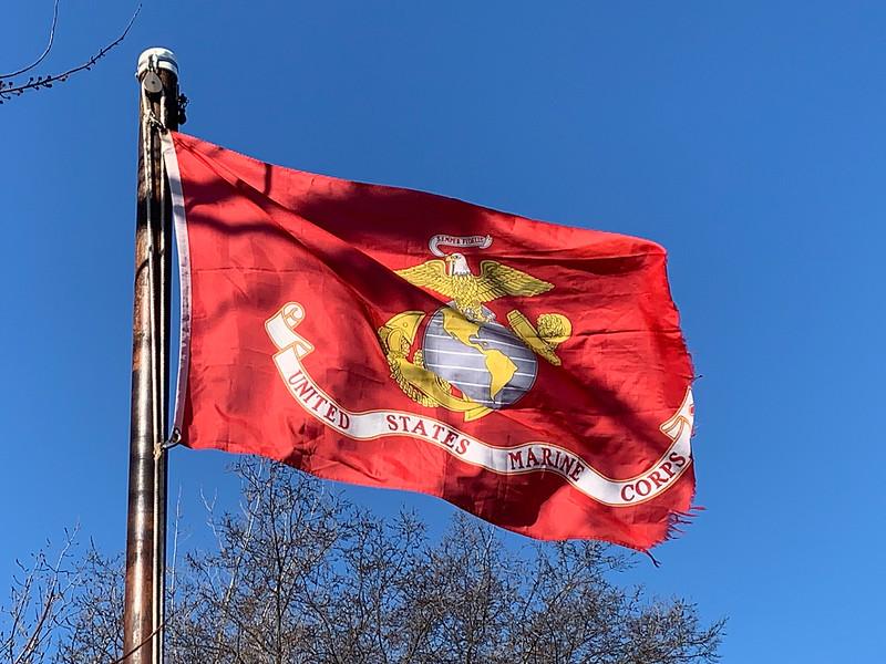 February 23, 1945 — United States Marines Corp Flag