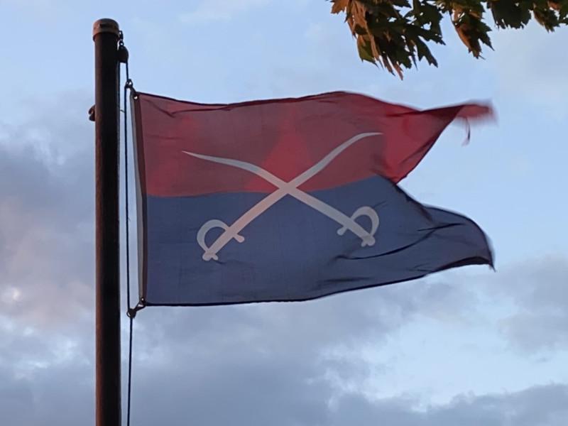 June 25-26, 1876 — 7th Cavalry Flag