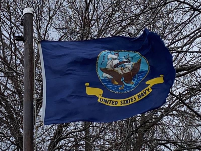 December 7, 1941 — U.S. Navy Flag