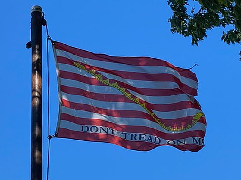 October 10, 1845 — Navy Jack Flag