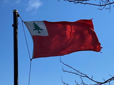 April 19, 1775 — New England Flag