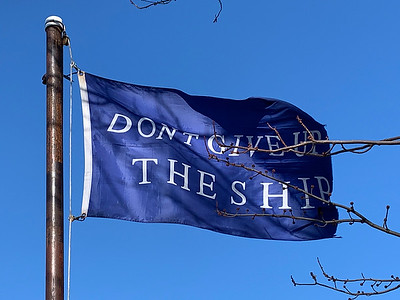February 8, 2020 - Commadore Perry Battle Flag