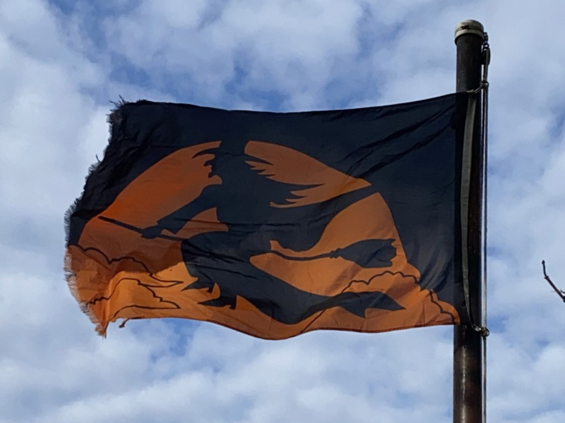 October 31, 2020 — Halloween Flag