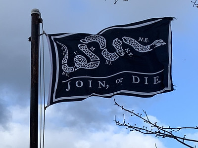 January 21, 2020 - Join or Die Flag