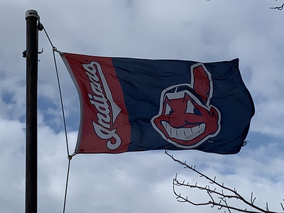 April 11, 2020 — Cleveland Indians Flag